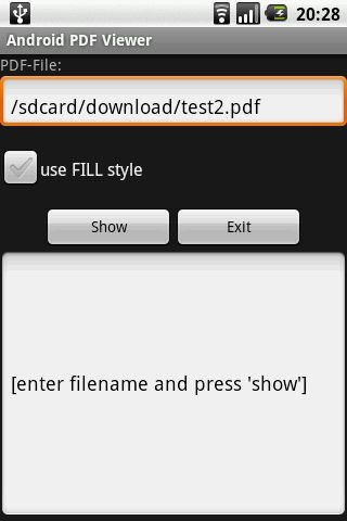 Pdf viewer android api download