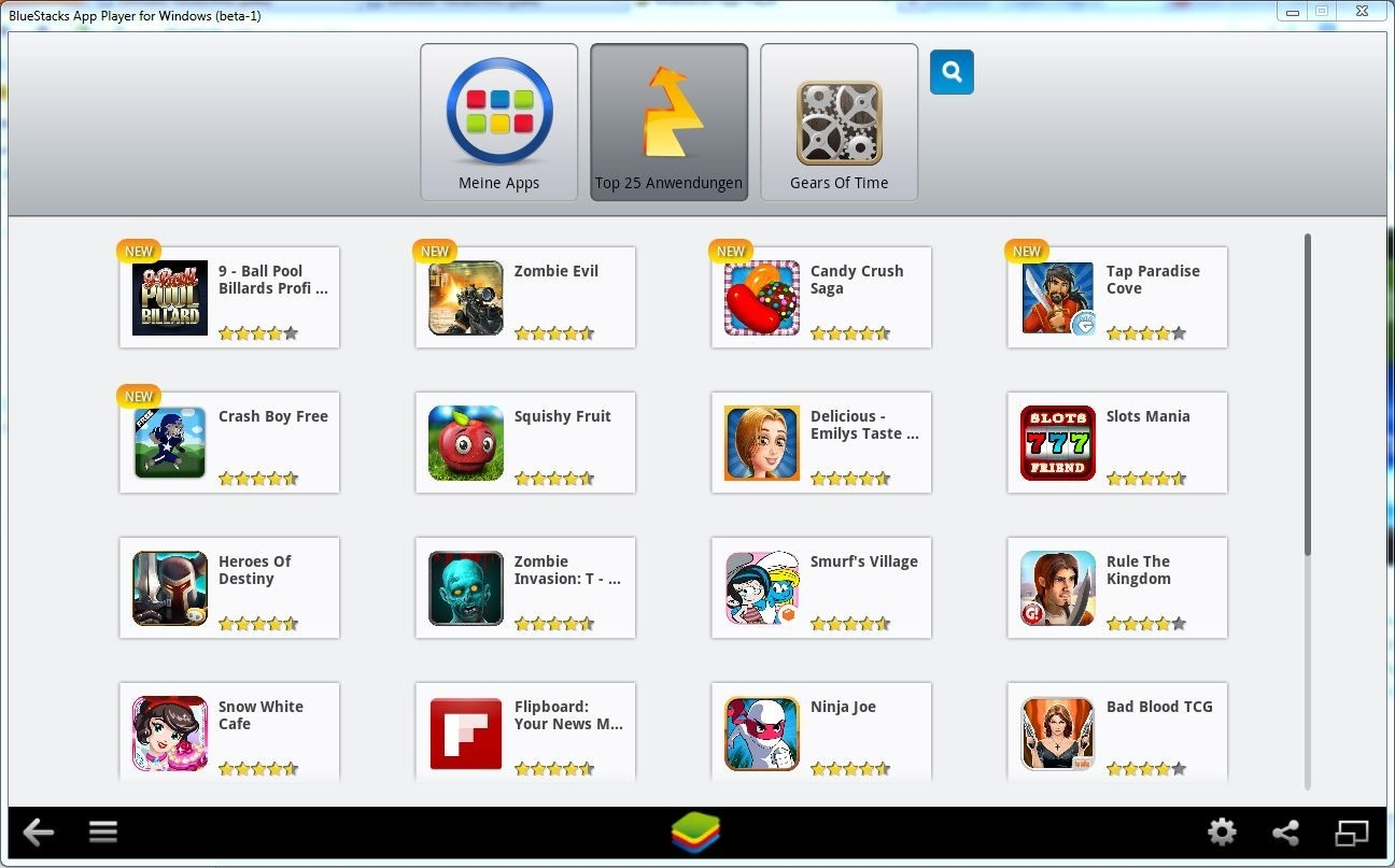Bluestacks App Player | heise Download