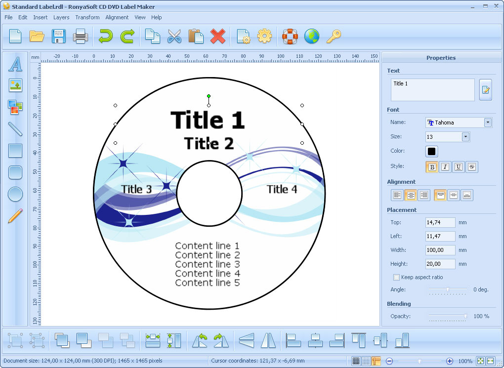 CD DVD Label Maker | heise Download
