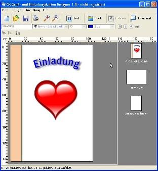 CK Gruß  Und Einladungskarten Designer | Heise Download