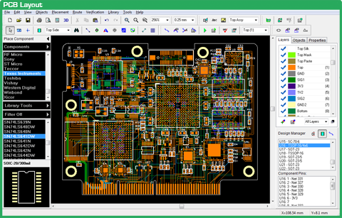 Pcb Design Software Auto Routing