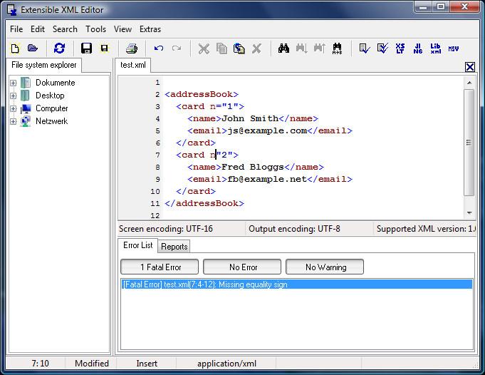 Essential xml editor heise download