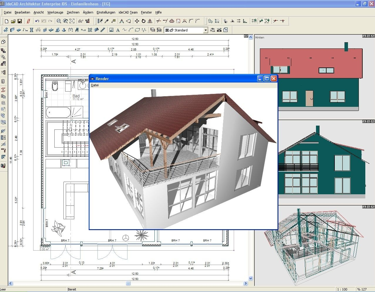 Idecad architektur heise download for 2d architectural drawing software free