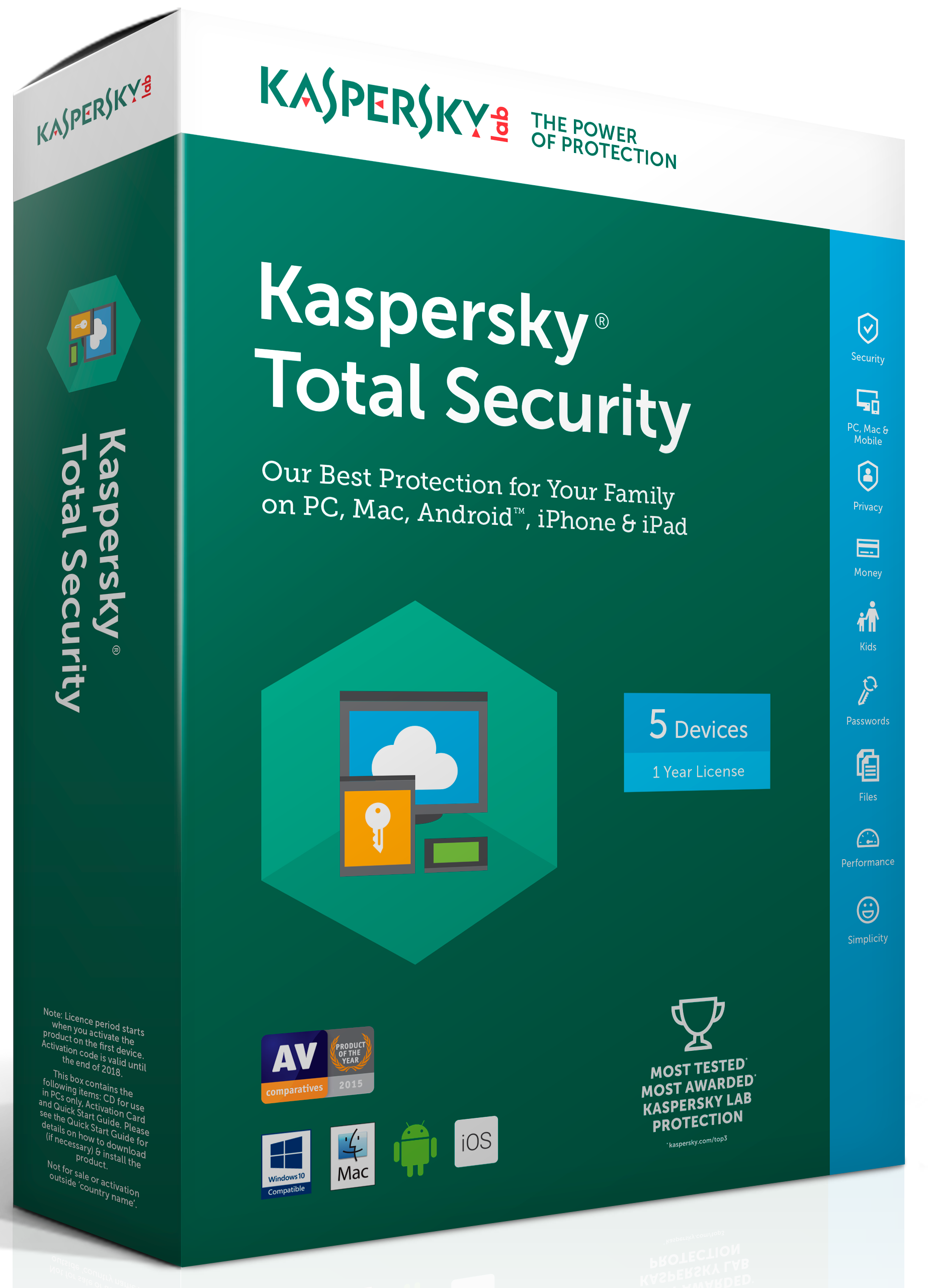 télécharger kaspersky total security