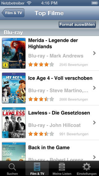 Lovefilm per post app f r android und ios heise download for App per progettare casa android