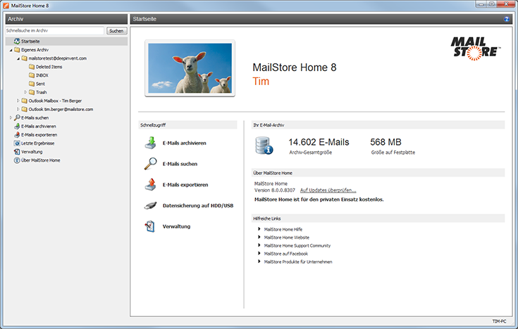 Mailstore Home Heise Download