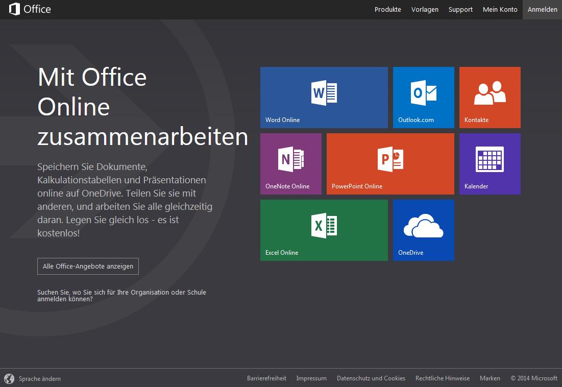 Microsoft Office Online | heise Download