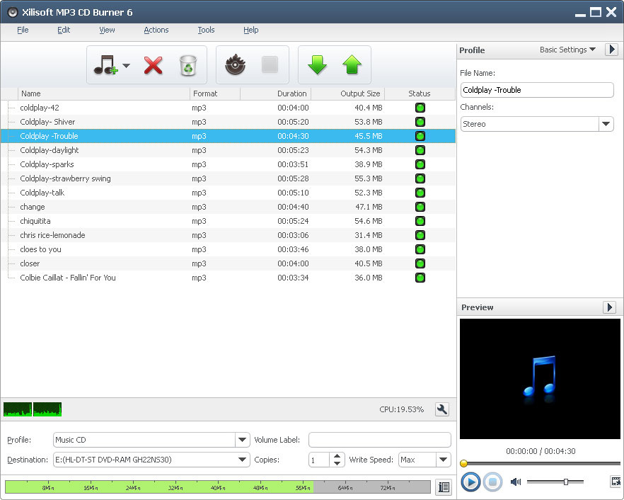Ultra MP3 CD Burner - Free download and software reviews - CNET Download