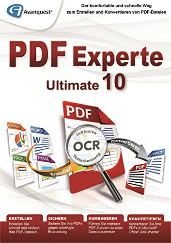 PDF Experte 7 Ultimate version by Avanquest software - How to uninstall it