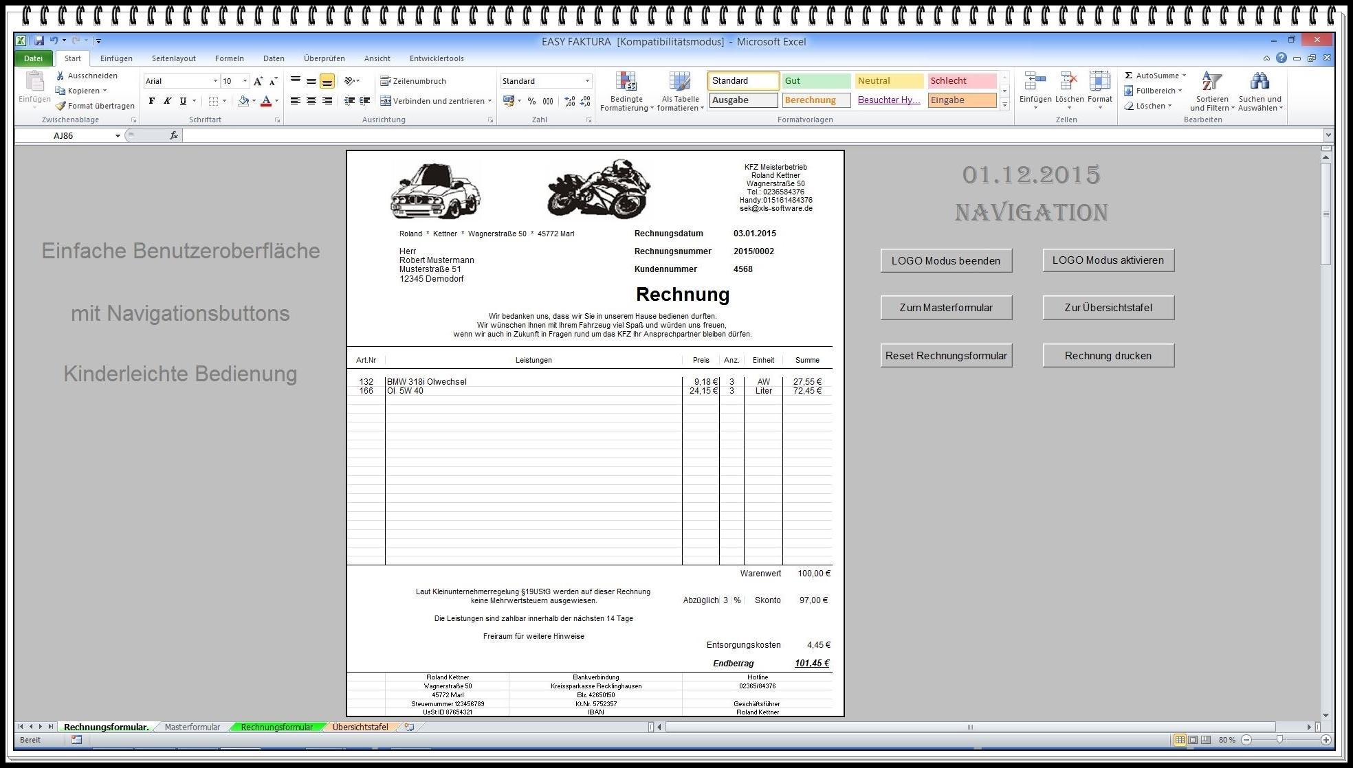 Rechnungsprogramm Heise Download