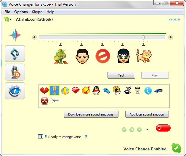 skype funny voice changer