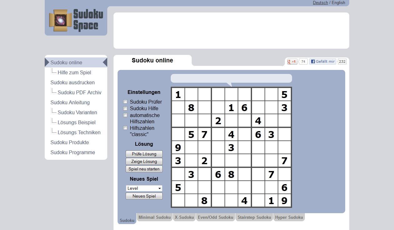 Sudoku Space | heise Download