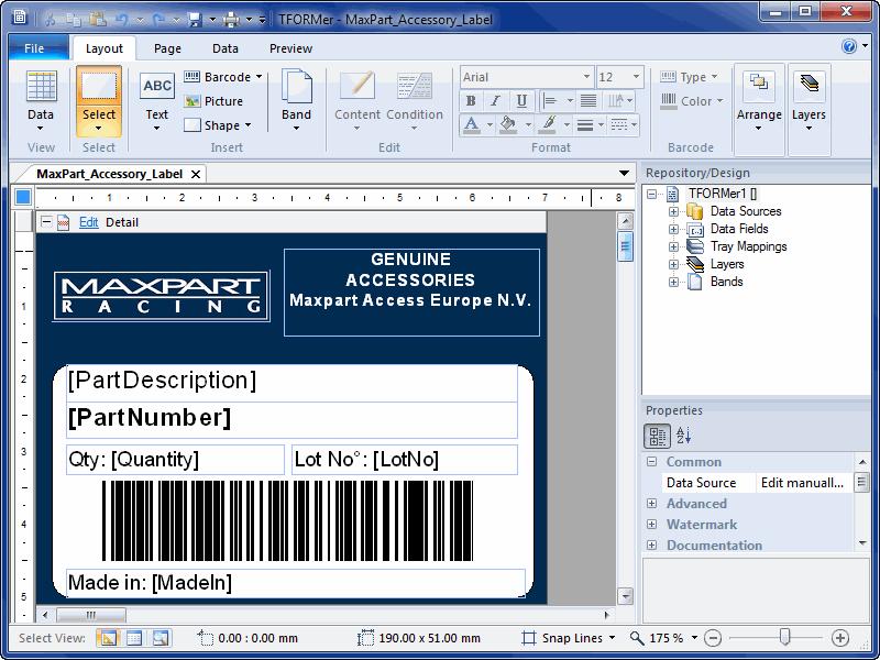 Tformer Barcode Label Printing Software Heise Download