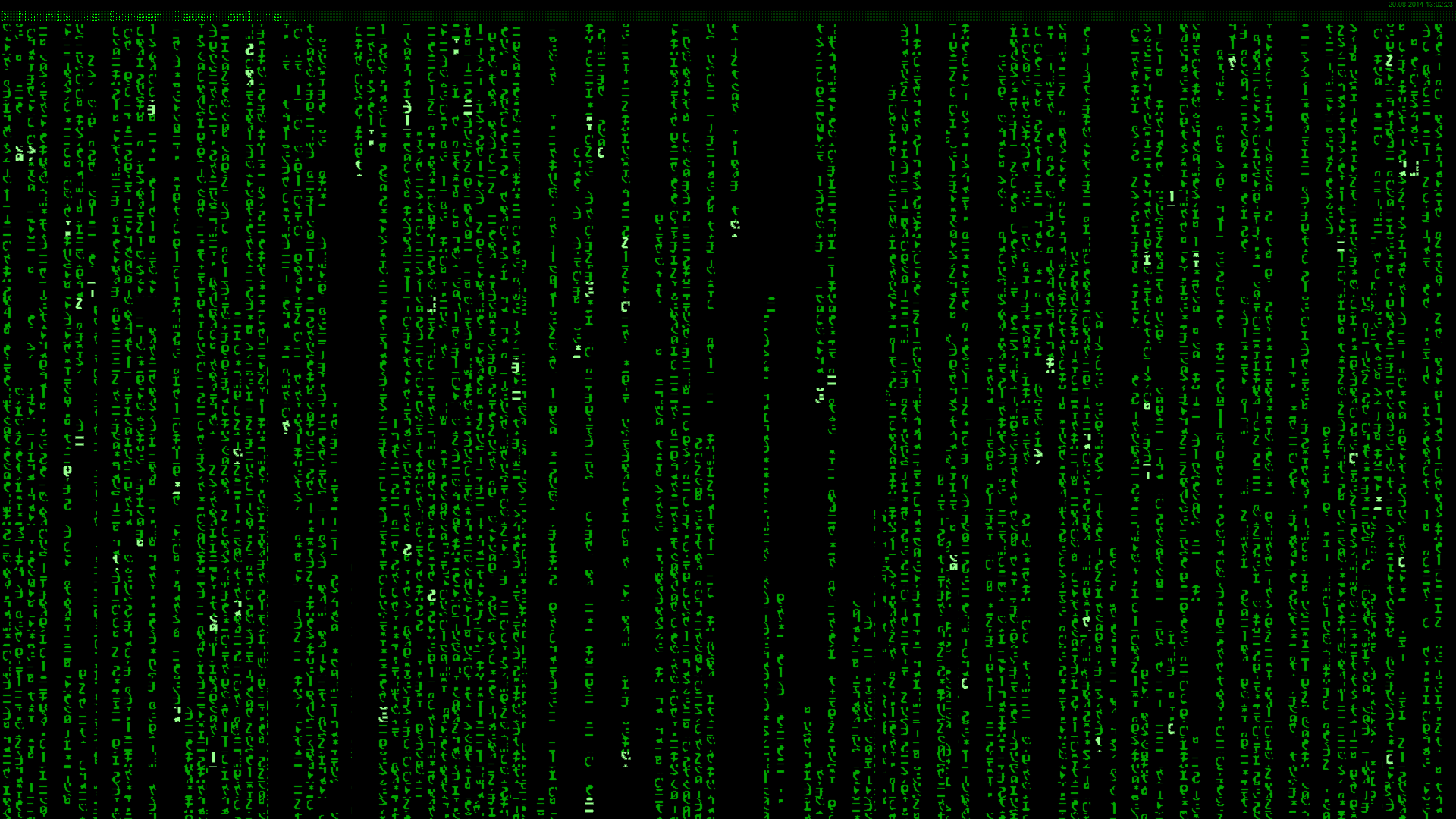 The Matrix Trilogy Screensaver Heise Download