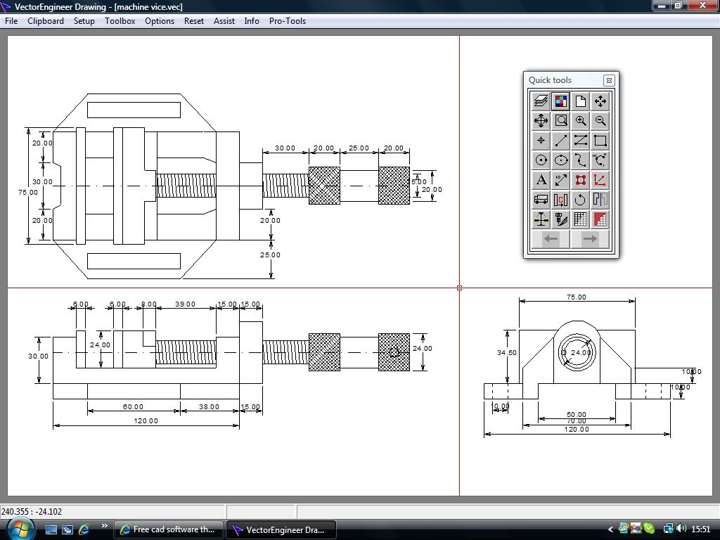 vectorengineer download bei heise. Black Bedroom Furniture Sets. Home Design Ideas