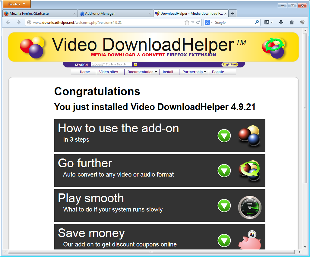 Google book downloader firefox add-ons download helper