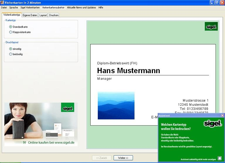 Visitenkarten in 2 minuten heise download - Visitenkarten kostenlos download ...