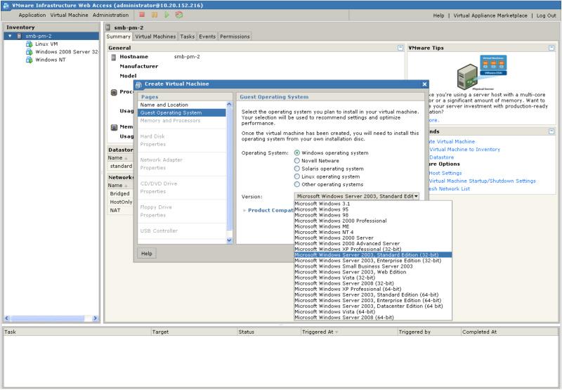 windows vista vmware image download