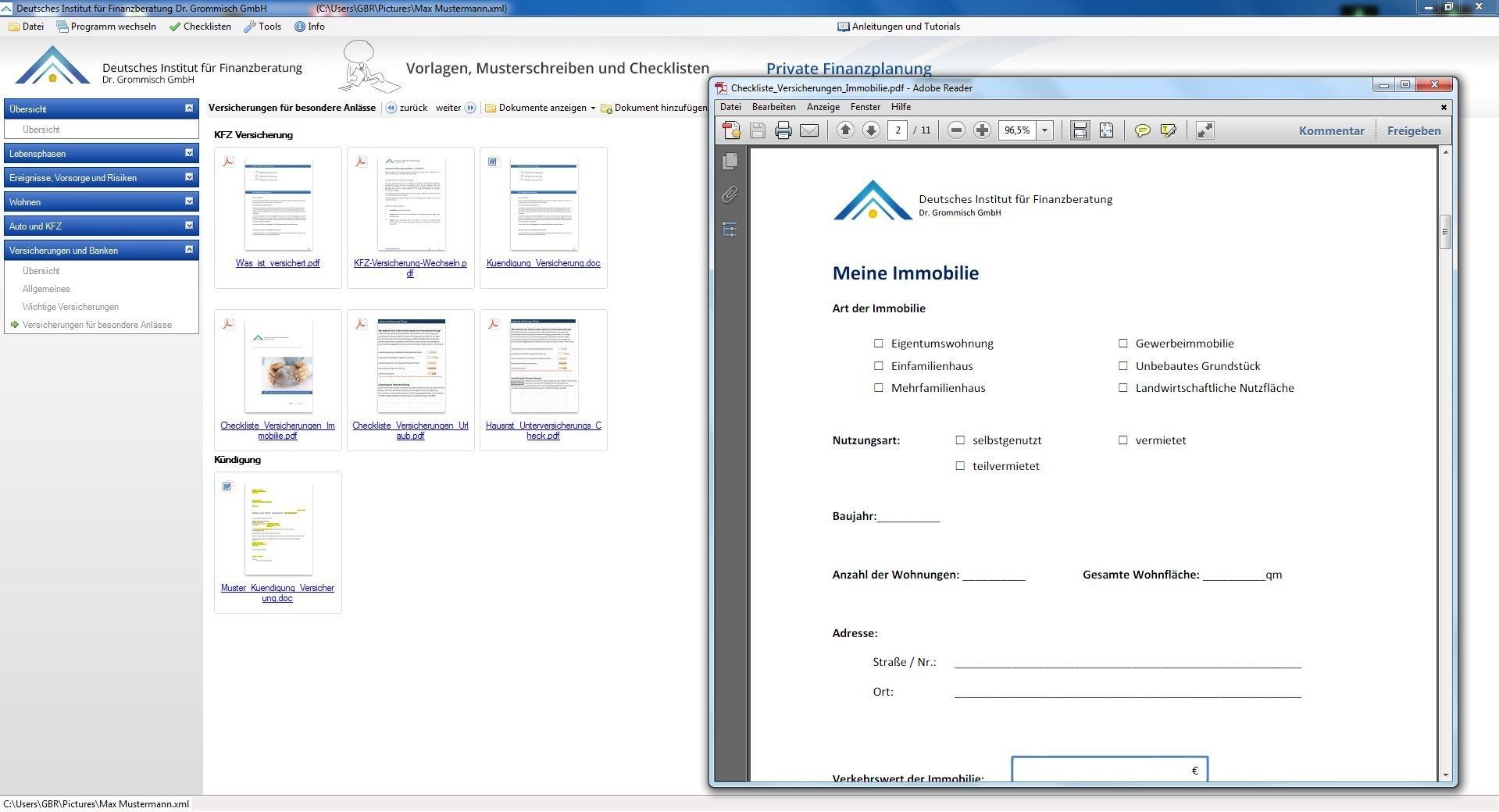Vorlagen, Musterschreiben und Checklisten 2013/14 | heise Download