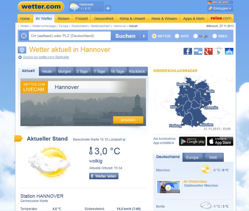 Wetter C0m
