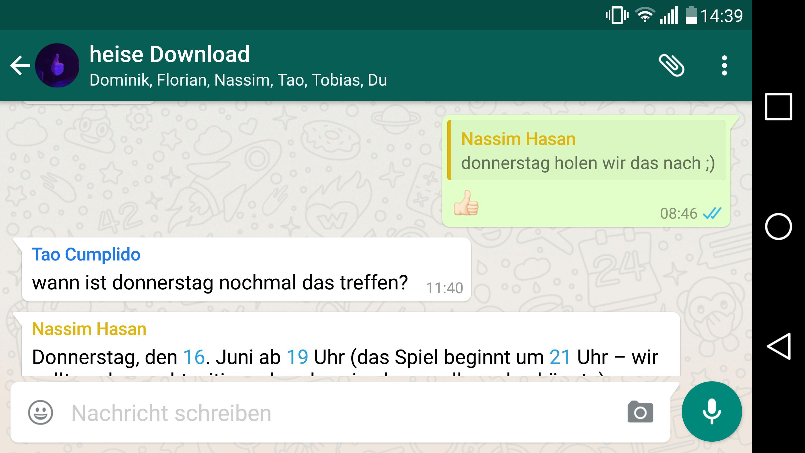 Whatsapp Zitat Einfügen