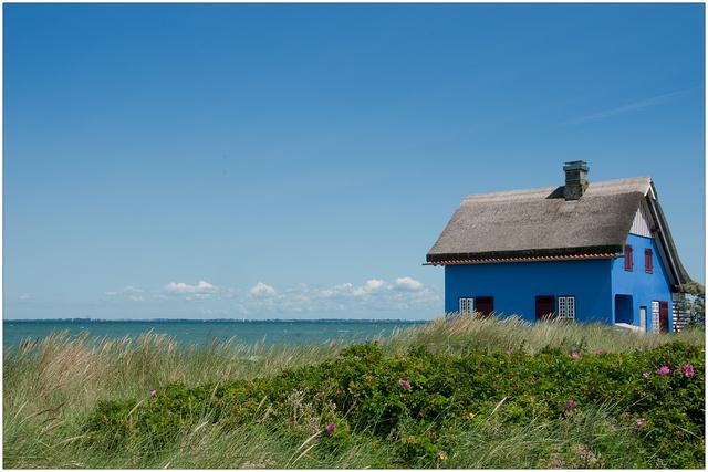 Haus am Meer von Andreas Vöge Galerie heise Foto