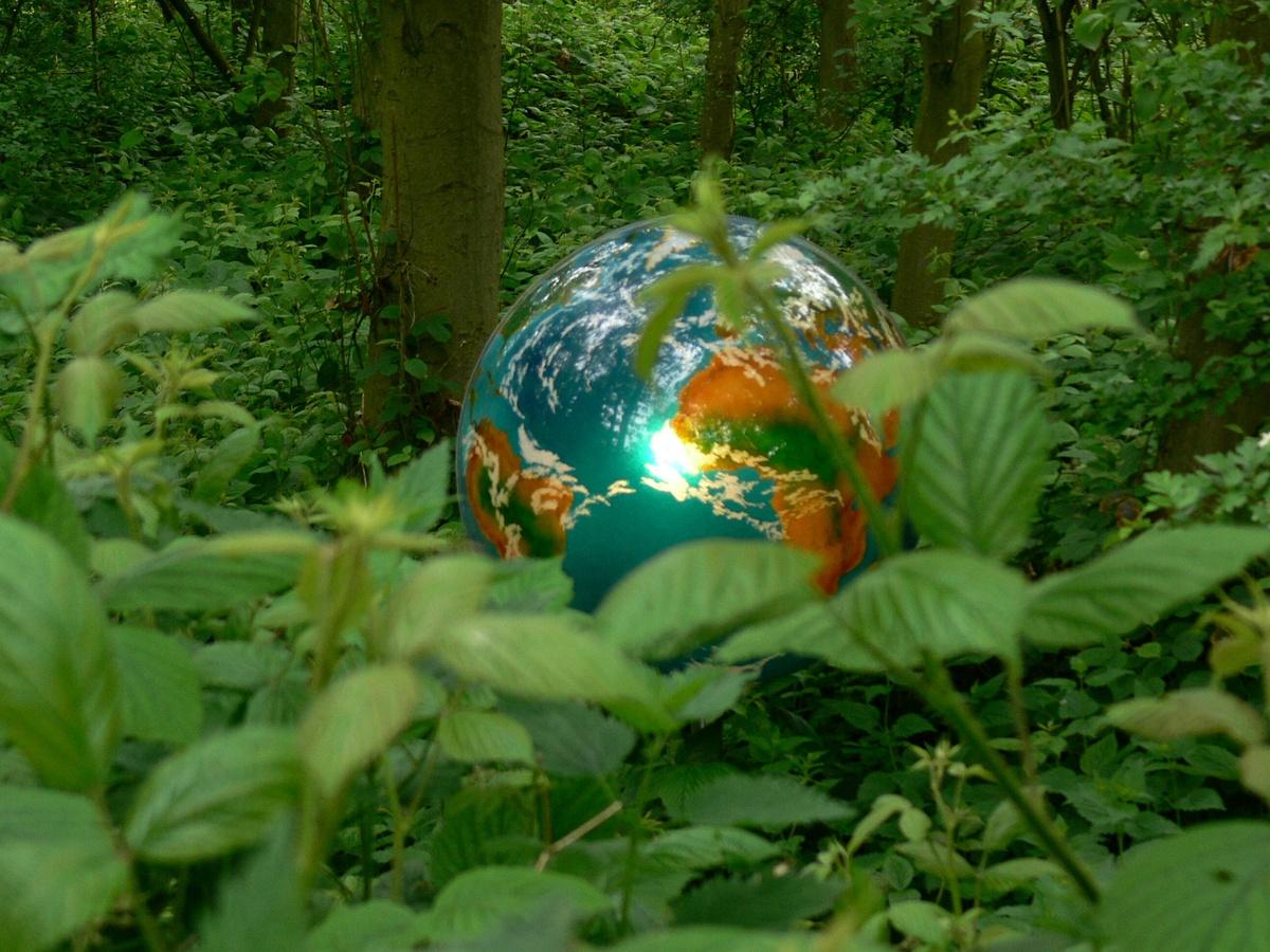Mutter Erde in eigener Natur