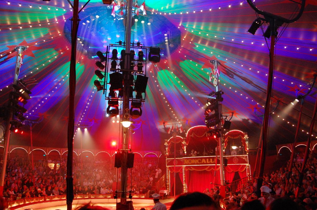 fotos circus roncalli