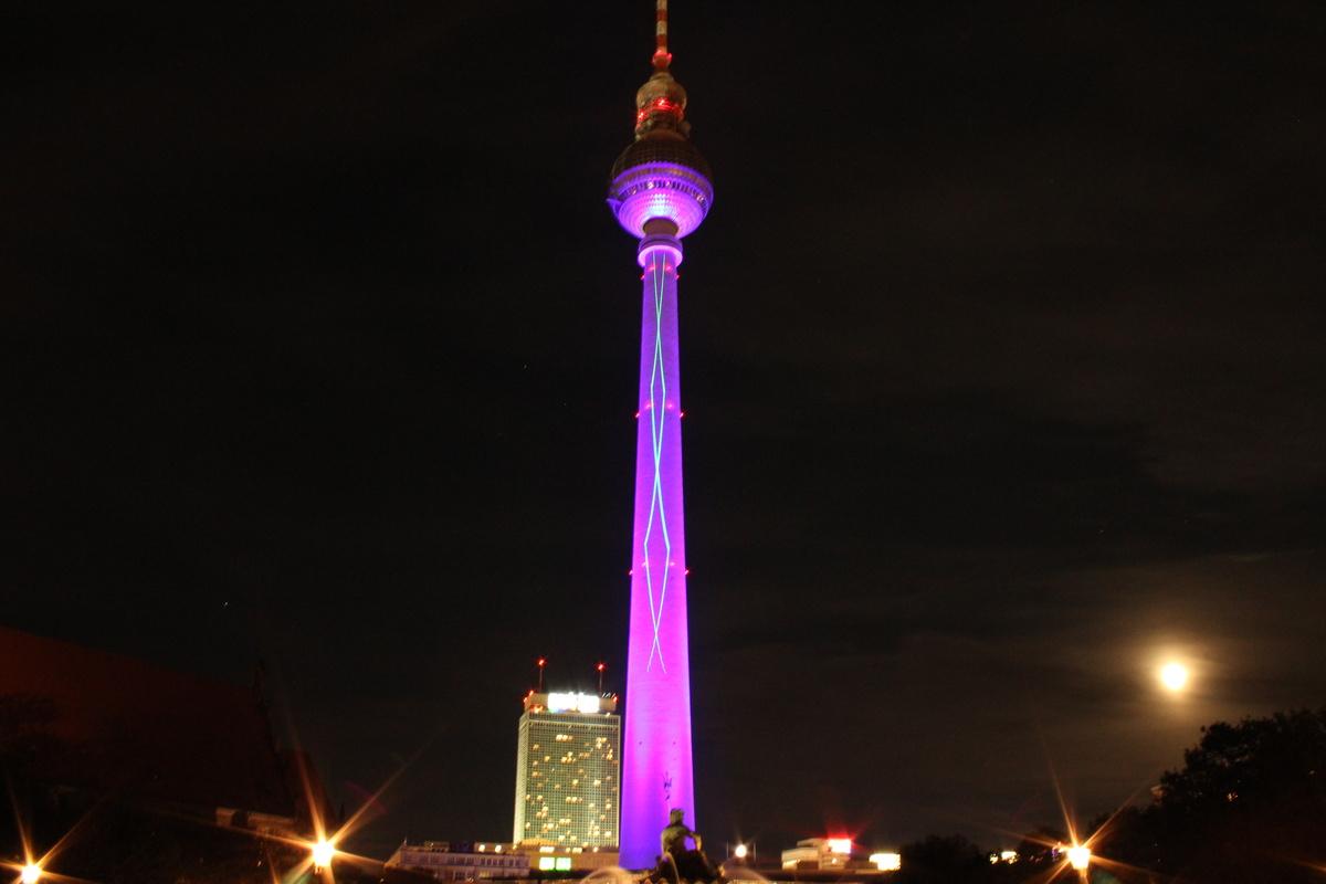 Ferienloft Berlin berlin fernsehturm mac hille galerie heise foto