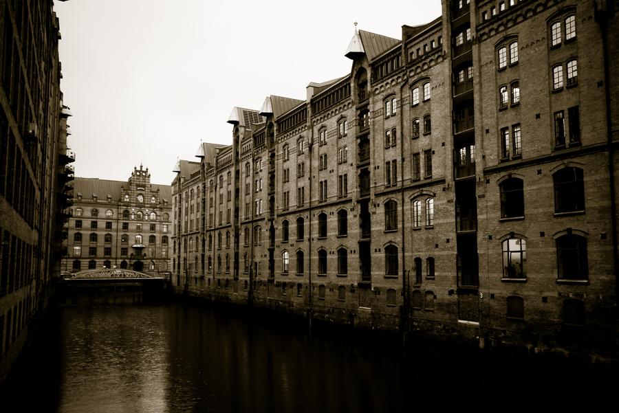 Hamburg speicherstadt iii