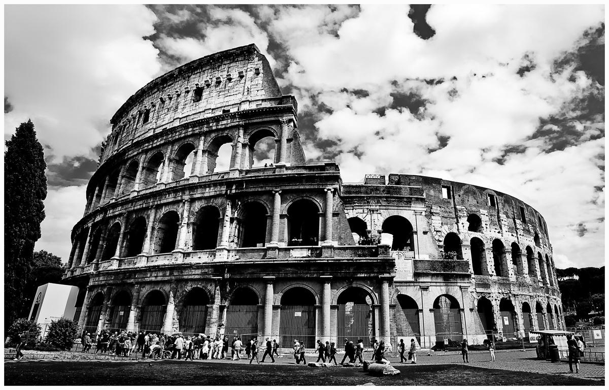 colosseum sw von vincent datta   galerie   heise foto