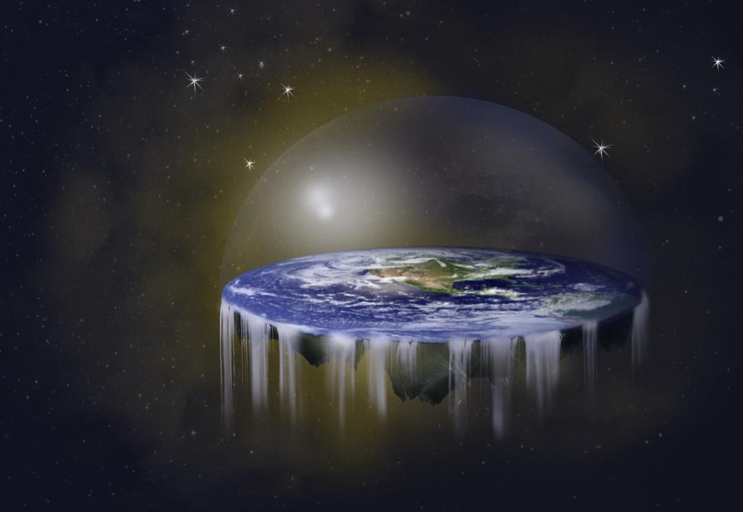 Für die meisten Menschen ist die Erde eine Scheibe