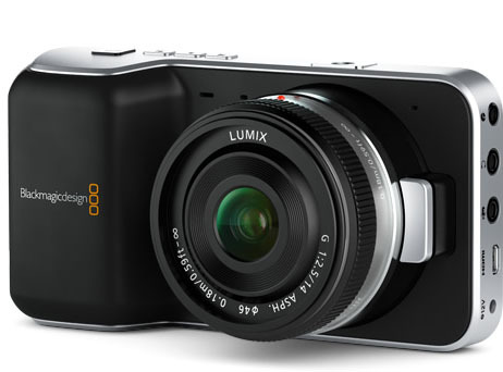 Digital-Filmkamera im Taschenformat: Blackmagic Pocket Cinema Camera   heise online