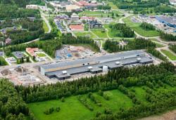Die schwedische Konstruktionsfirma NCC hat die Halle des Facebook-Rechenzentrums gebaut.