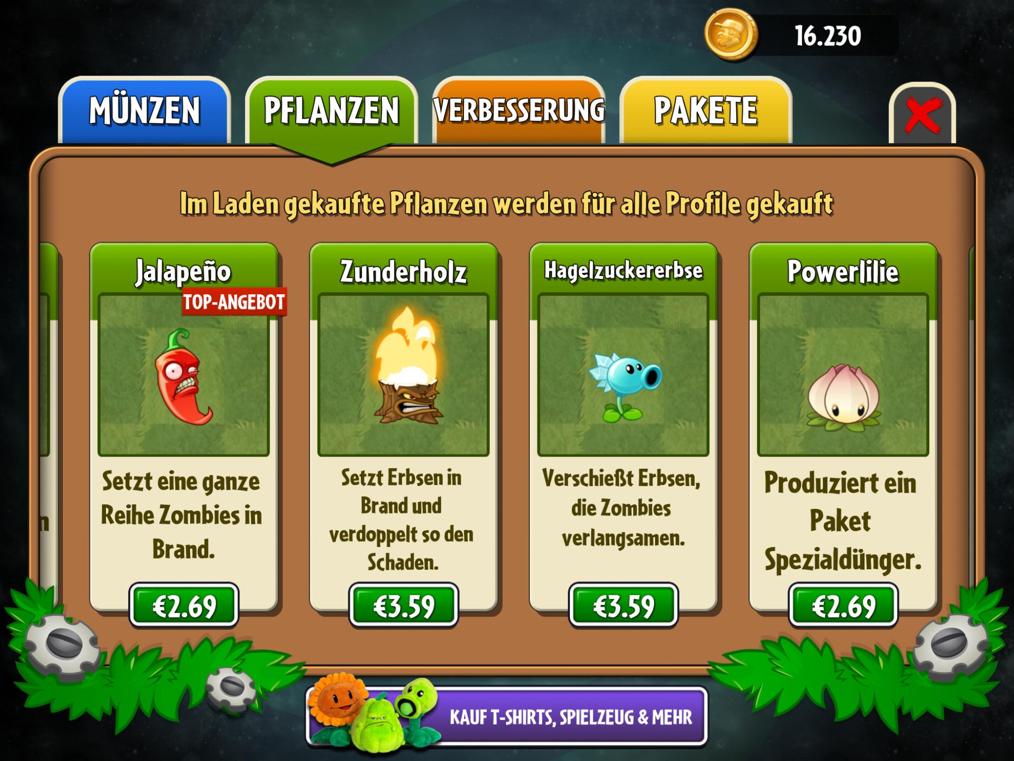 pflanzen gegen zombies geld trick