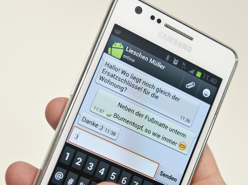Whatsapp Bestätigungscode
