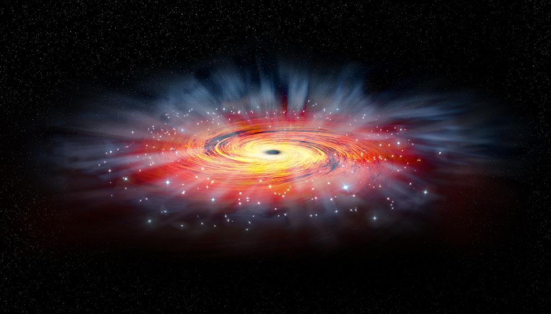 quasar schwarzes loch