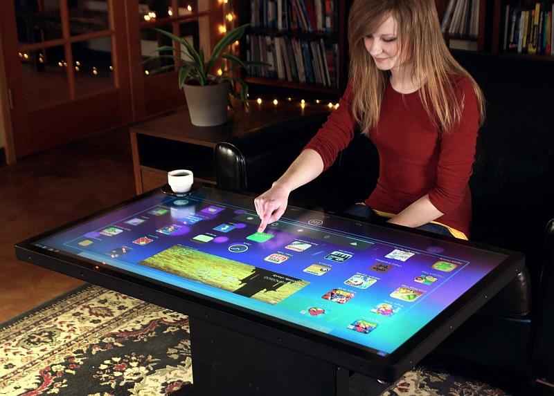 Tisch Mit Bildschirm ComForAfrica