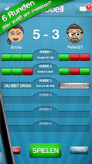 Online Quizduell
