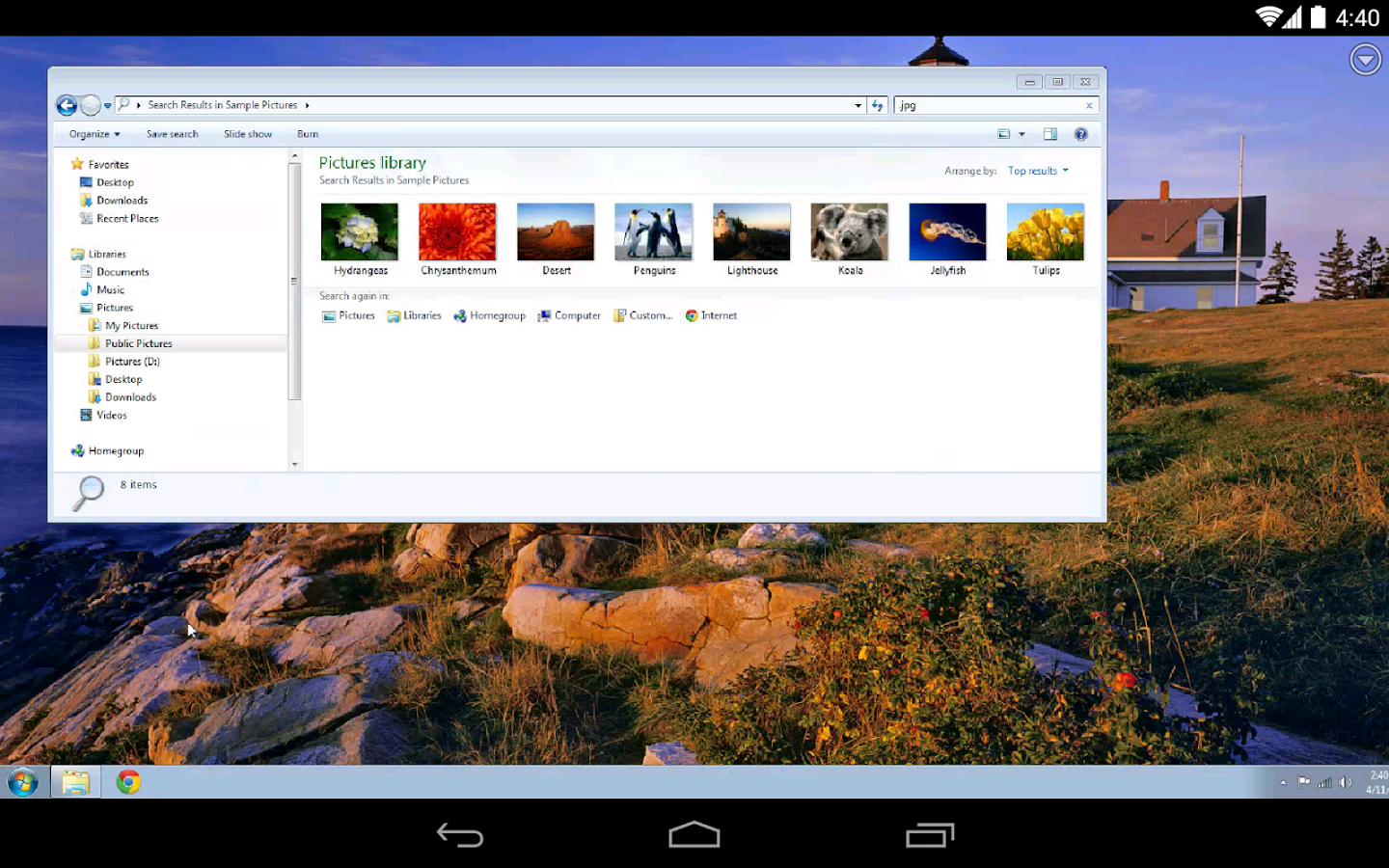 Fernwartung Android App for Chrome Remote Desktop   heise online