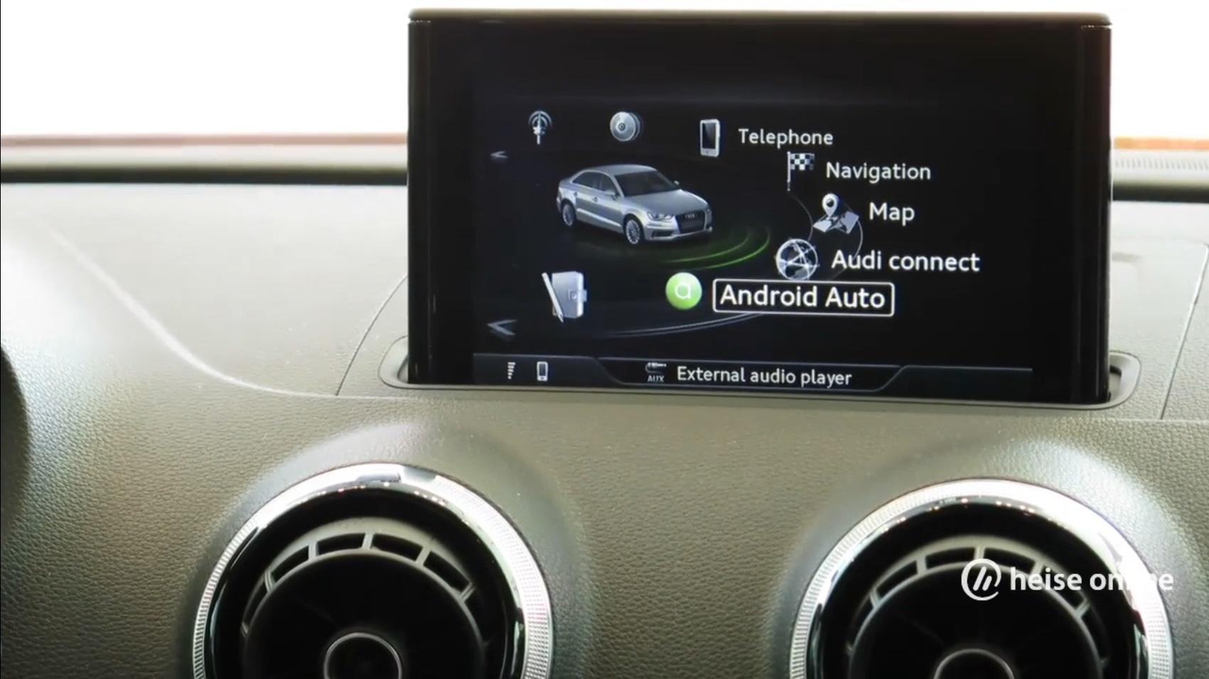 Audi Android Auto Ist Nur Zusatz Zu Bestehenden In Car