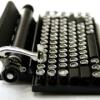 Schreibmaschinentastatur für das iPad