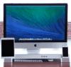 iMac-Aufsteller mit Dock-Integration