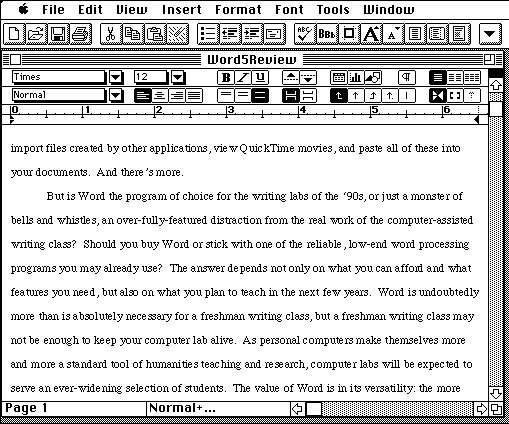 Microsoft office feiert 25 geburtstag mac i for Bureau word origin