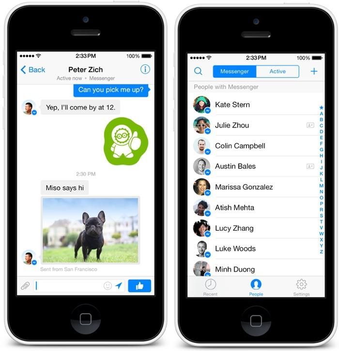 Facebook Sonstige Nachrichten App