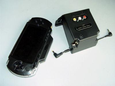 """PSP2TV - это своеобразный крэдл, к которому подключается PSP.  Что значит  """"подключается """".  Мы знаем, что по умолчанию..."""