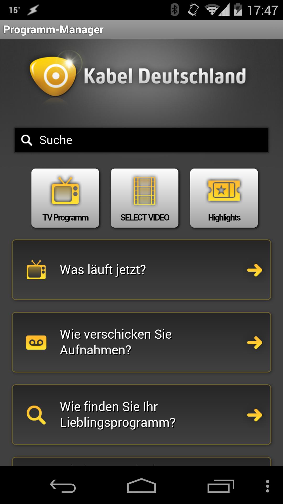 app von kabel deutschland mit datenleck heise security. Black Bedroom Furniture Sets. Home Design Ideas