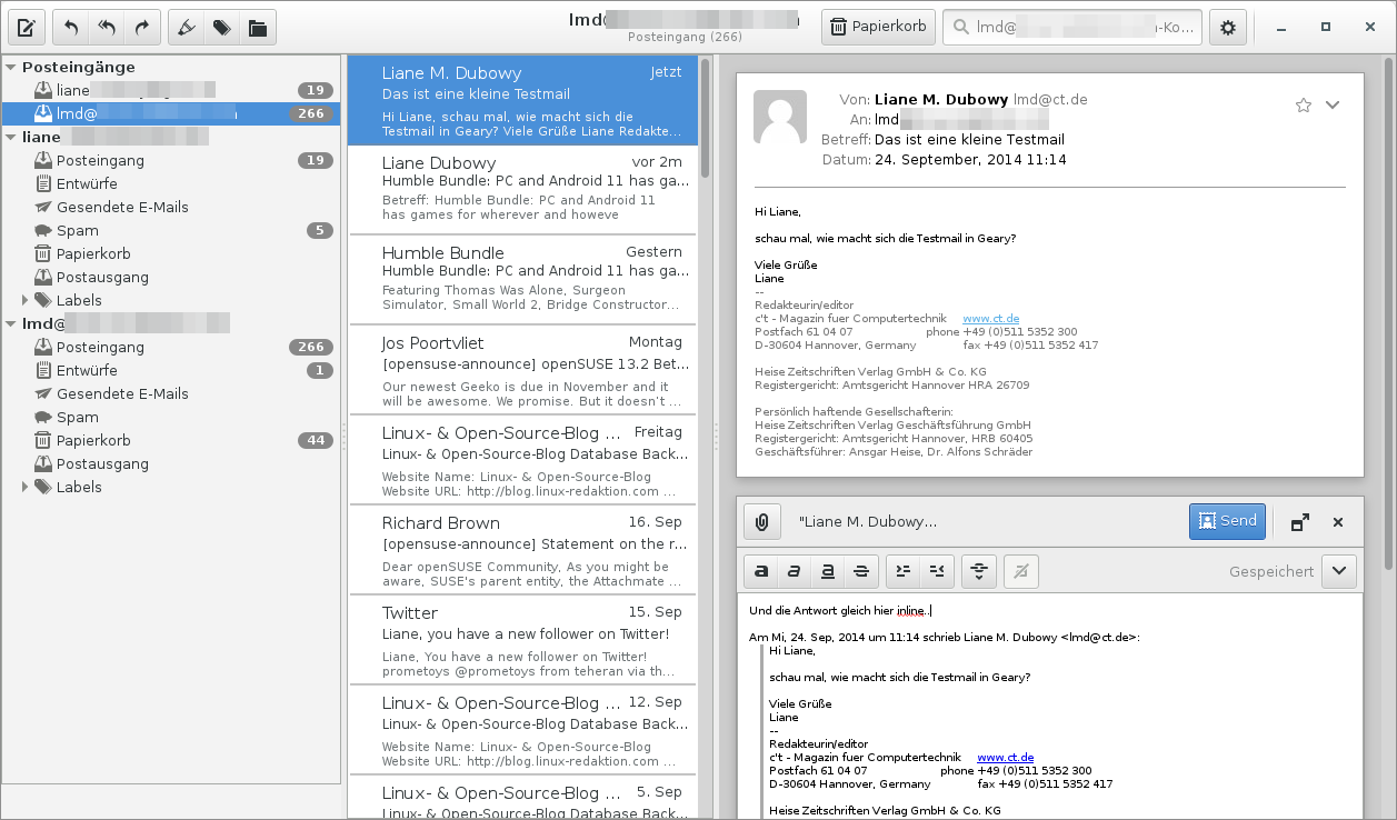 E-Mail Client Geary 0 8 veröffentlicht | heise online
