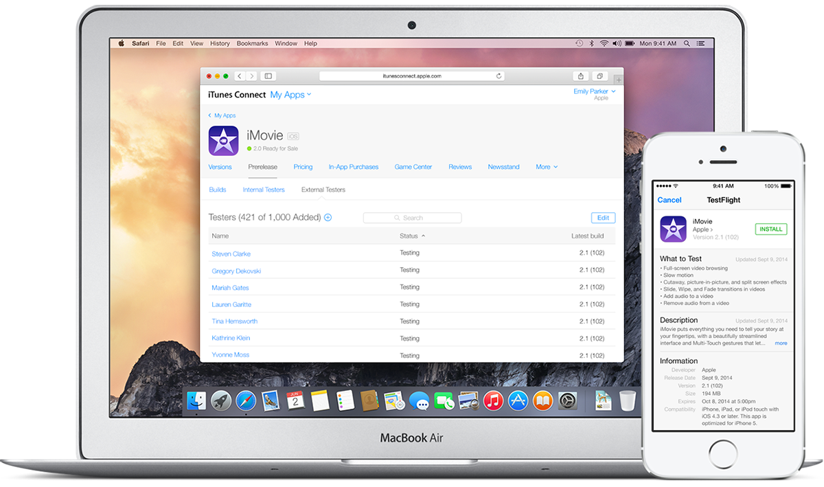 Bild zu «iOS: Apple gibt Betatest-Umgebung TestFlight frei»