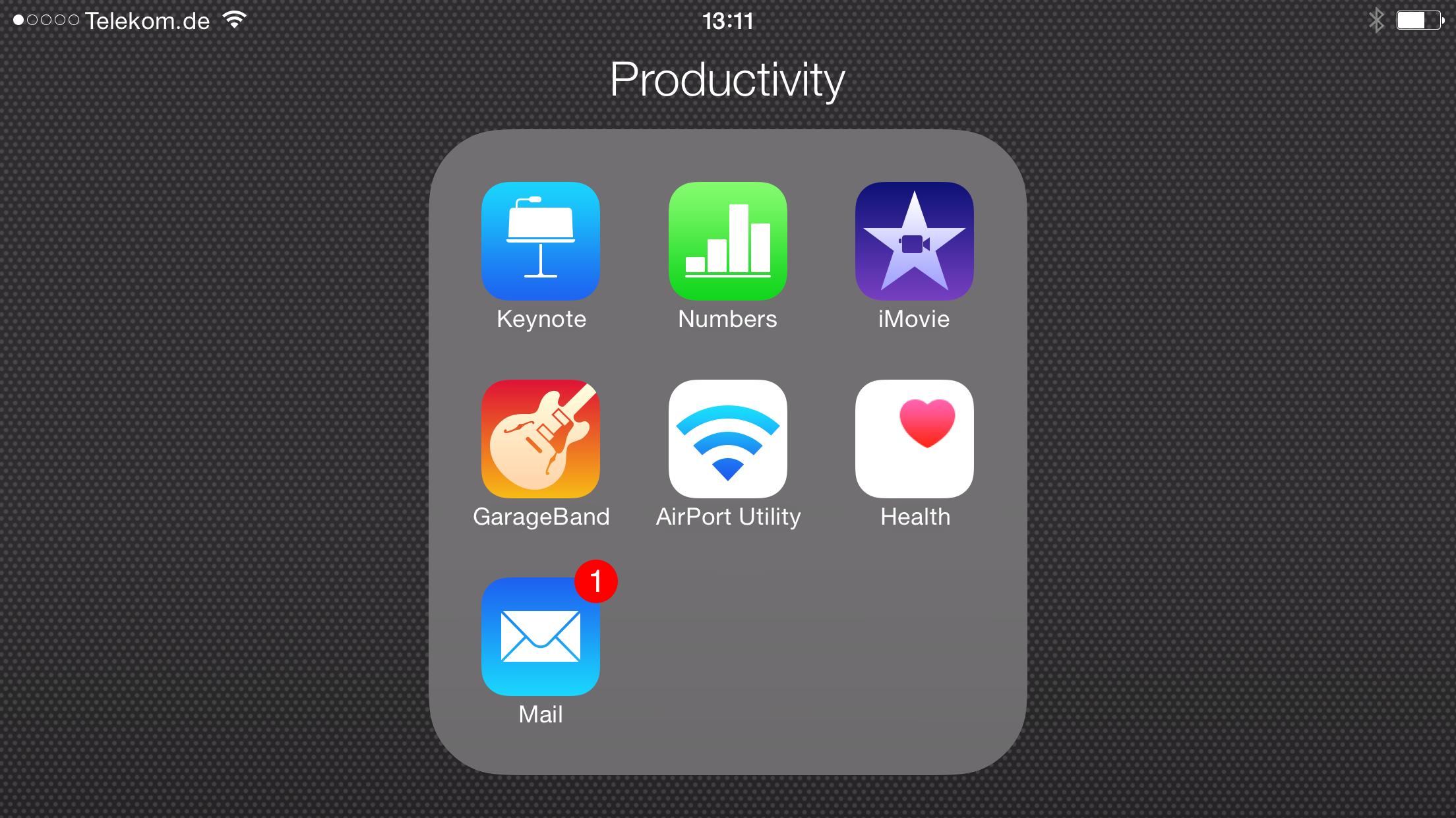 Vorinstallierte Apps